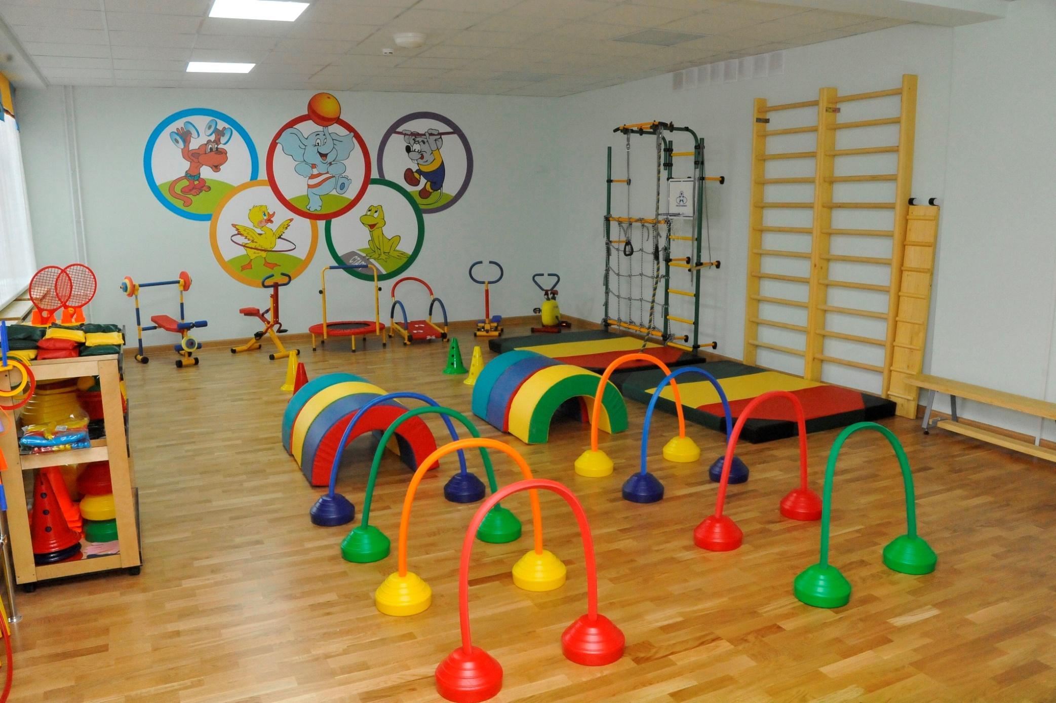 Физкультурный новый год в детском саду